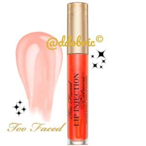 Too Faced TANGERINE Lip Injection Extreme Plumper